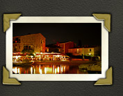 Port Grimaud am Abend, romantische Restaurants in Port Grimaud